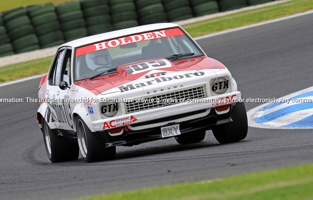 Chiomi Gendre - Holden Torana A9X - Group G.Historic Motorsport Racing - Phillip Island Classic.18th March 2011.Phillip Island Racetrack, Phillip Island, Victoria.(C) Joel Strickland Photographics.Use information: This image is intended for Editorial use only (e.g. news or commentary, print or electronic). Any commercial or promotional use requires additional clearance.