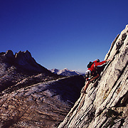 Climbing in Yosemite, California