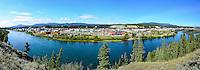 Panorama of the City of Whitehorse, Yukon
