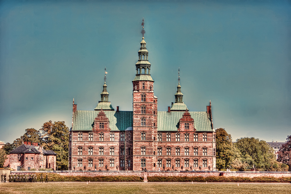 Rosenborg Castle (Danish: Rosenborg Slot) is a renaissance castle located in Copenhagen, Denmark. The castle was originally built as a country summerhouse in 1606 and is an example of Christian IV's many architectural projects. It was built in the Dutch Renaissance style, typical of Danish buildings during this period, and has been expanded several times, finally evolving into its present condition by the year 1624. Architects Bertel Lange and Hans van Steenwinckel the Younger are associated with the structural planning of the castle.