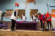 DEN DOLDER  - De prinsessen Beatrix, Aimée en de prinsen Constantijn en Floris hebben vrijdag de handen uit de mouwen gestoken voor de actie NLdoet. De koninklijke vrijwilligers hielpen mee op de Prinses Máxima Manege in Den Dolder.  NL Doet in Den Dolder met o.a. prinses Beatrix, prins Constantijn, prinses Aimee en prins Floris. The princesses Beatrix, Aimée and princes Constantine and Floris on Friday hands invested their sleeves for action NLdoet. The royal volunteers helped the Princess Máxima riding in Den Dolder. COPYRIGHT ROBIN UTRECHT