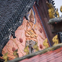 A detail from Wat Sisaket, Vientiane's oldest surviviing Wat.