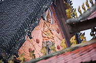 A detail from Wat Sisaket, Vientiane's oldest surviviing Wat.