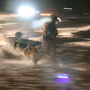 Yukon Quest 2007 at Braeburn Lodge.