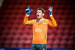 Falkirk's keeper Michael McGovern..Dunfermline 0 v 1 Falkirk, 26/12/2012..©Michael Schofield.