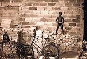 2000 August- Havana, Cuba- ' Supa Boy on Bricks '  in Havana, Cuba