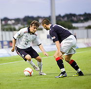 Falkirk v Dundee - Ramsdens Cup 09.08.11