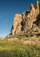 Beaverhead Rock State Park, Beaverhead Rock, Lewis and Clark landmark, Montana, 4,949 feet