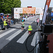 Runners compete in the 13th Annual Discover Bank Delaware Marathon Sunday, May 8, 2016, at Tubman Garrett Riverfront Park, in Wilmington Delaware.