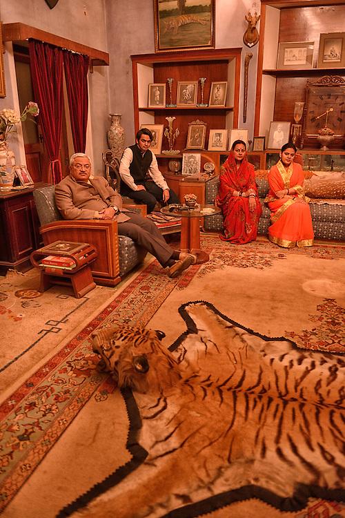 Royal Family,Bhanwar Vilas Palace,City of Karauli,Rajasthan,India
