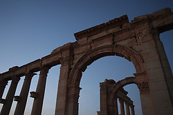 These photos were taken on a visit to Palmyra / Tadmur in October 2010. In May 2015, the city came under control of the Islamic State in Iraq and the Levant (ISIL).