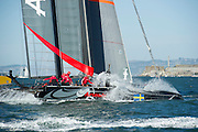 Artemis Racing White. Day four of the America's Cup World Series, San Francisco. 6/10/2012