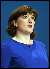 OCT 29 2014 File Photo Nicky Morgan changes her mind & supports gay marriage