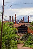 Nickel refining in Nicaro, Holguin, Cuba.