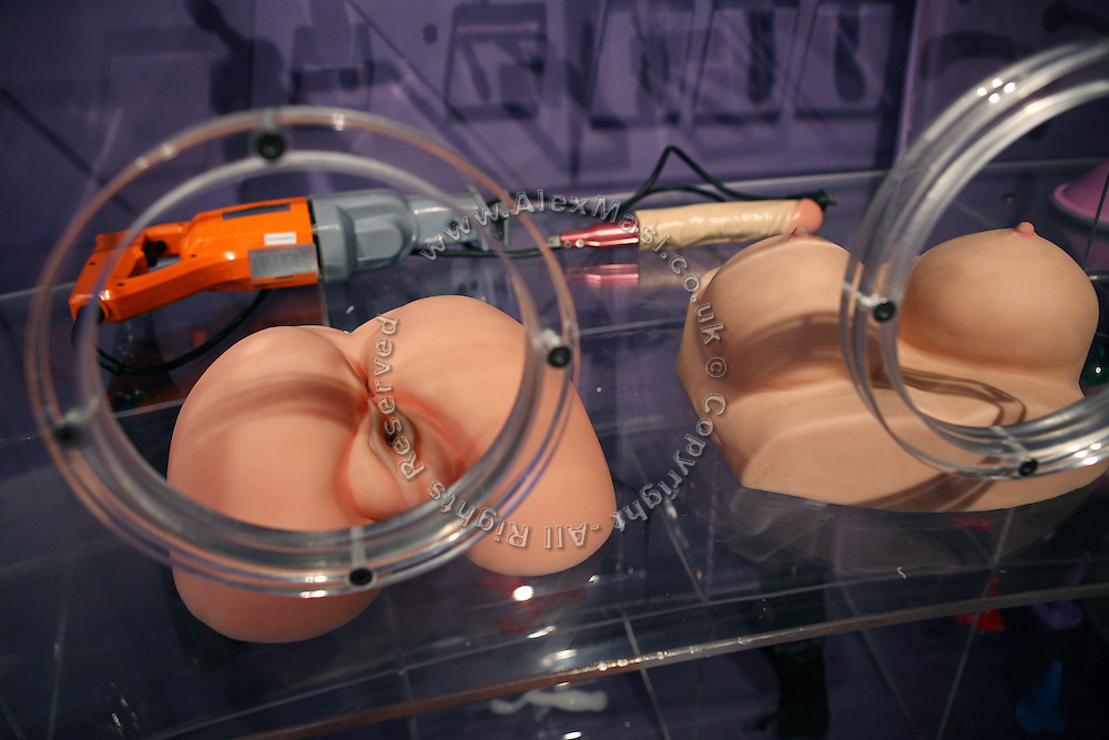 Sex toys are on display at Amora, the Academy of Sex and Relationships, on Tuesday, April 17, 2007, in London, UK. The world's first visitor attraction dedicated to love, sex and relationships opens its door officially tomorrow (18th of April 2007) in Piccadilly. The permanent interactive attraction, Amora, expects to draw over half a million, 18+ visitors in the first year and fuses entertainment, excitement and education in a unique powerful sensory experience. With seven zones covering every aspect of relationships from first filtrations and dating to fantasy and fetish. Visitors can explore the science of attraction - what they find attractive and why, learn how to enhance their skills and even create what their perfect partner might look like. Male and female models help demystify erogenous zones, G-spot and prostate, while insights and technique tips are offered on various topics. Sexual awareness and well-being are also covered thoroughly. **Italy Out**