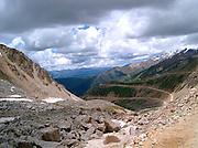 Qu er Shan - Tibet mountains