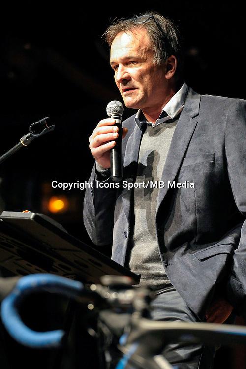 Stephane Javalet - 23.01.2015 - Presentation Auber 93<br />Photo : Andre Ferreira / Icon Sport