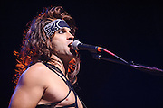 Photos of the LA band Steel Panther performing at the Pageant in St. Louis on July 25, 2012.
