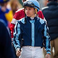 December 31 2014: Apprentice jockey, Drayden Van Dyke at Santa Anita Park in Arcadia CA. Alex Evers/ESW/CSM