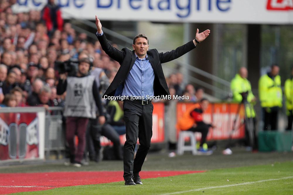 Philippe MONTANIER - 12.04.2015 - Rennes / Guingamp - 32eme journee de Ligue 1 <br />Photo : Vincent Michel / Icon Sport