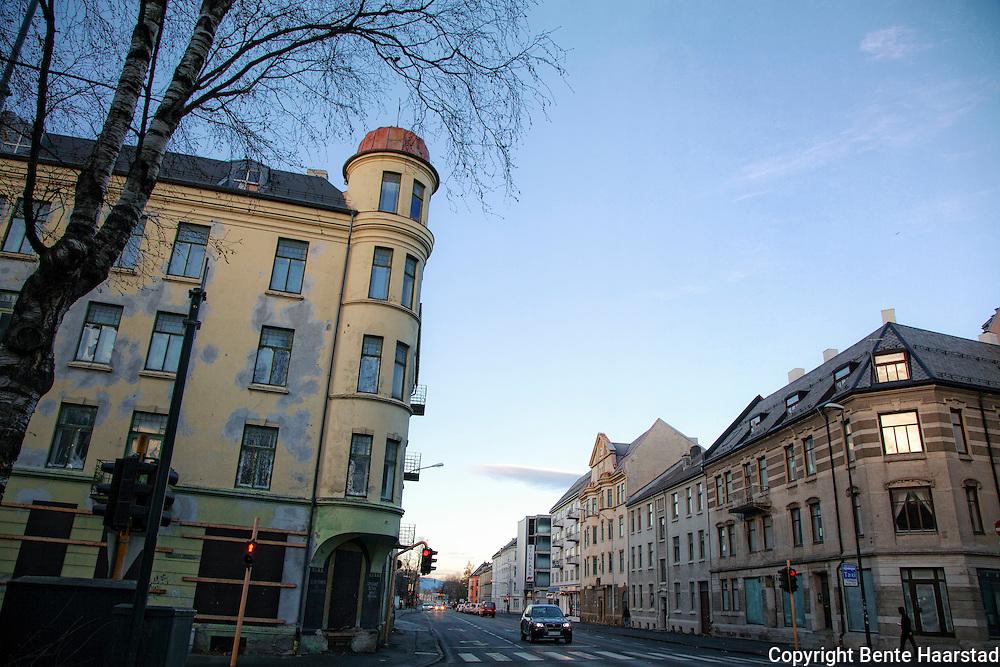 Jugendbygningen Elgesetergate 30B, fra begynnelsen av 1900-tallet er planlagt revet. Trondheim.