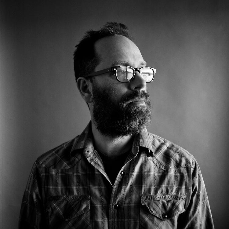 ANCHORAGE, ALASKA - 2017: Musician Jonathan J. Bower.