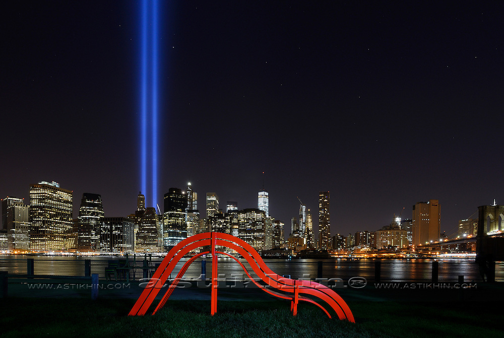 Tribute in Light - We Shall Never Forget. 2015.