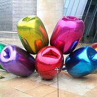 """Tulips"" by Jeff Koons"