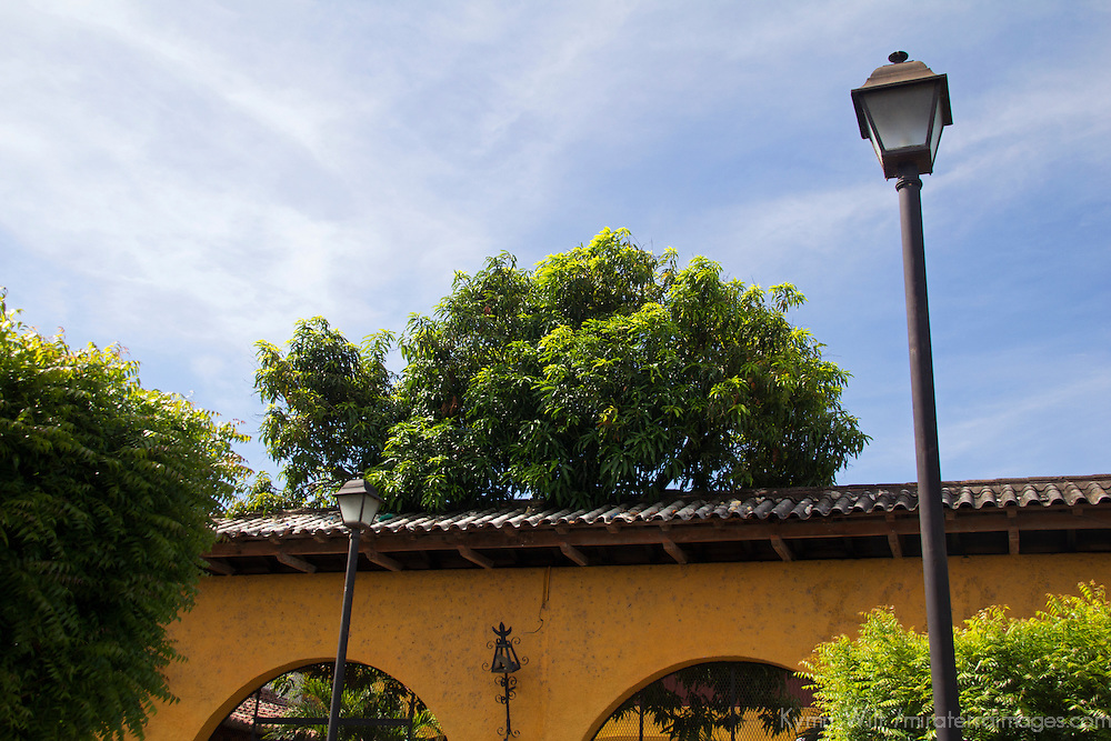 Central America, Nicaragua, Granada. Architecture of Granada.