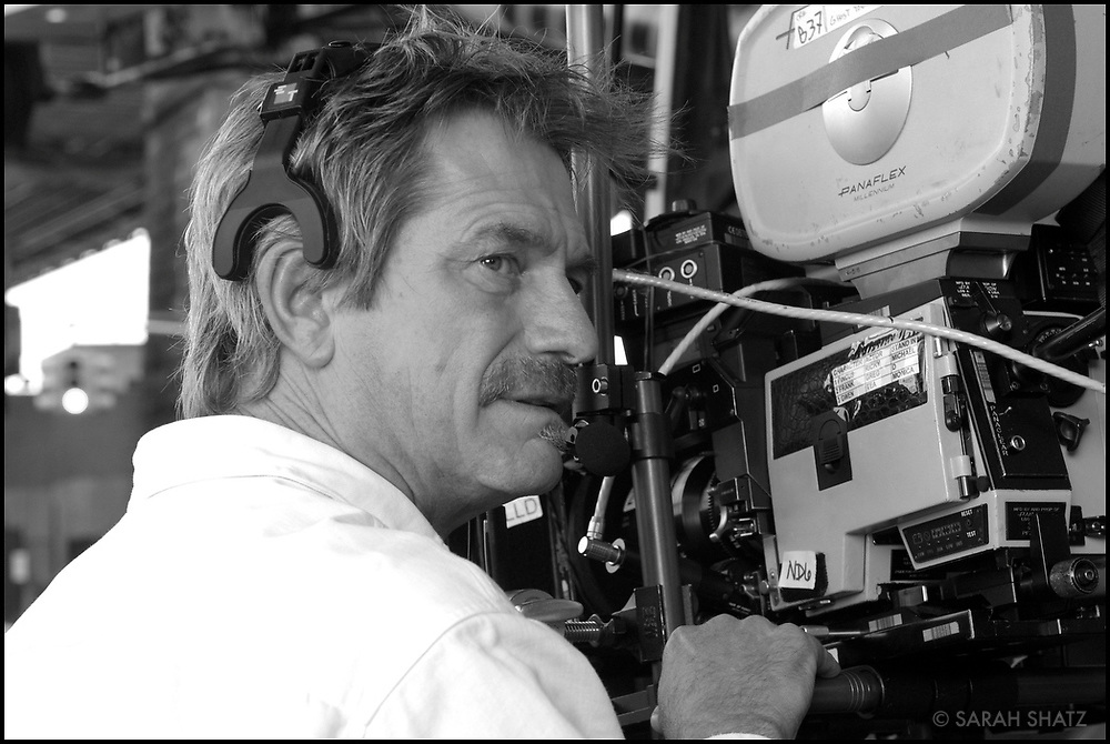 "Arthur Blum on the set of ""Ghost Town"" (Dir: David Koepp, 2008)"