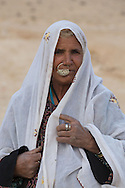 An old woman from the tribe of El-Azazme.  Photo by Oren Nahshon