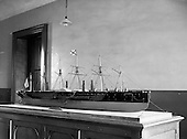"""1959 - A model of the ship """"Great Eastern"""" goes on display in Dun Laoghaire"""