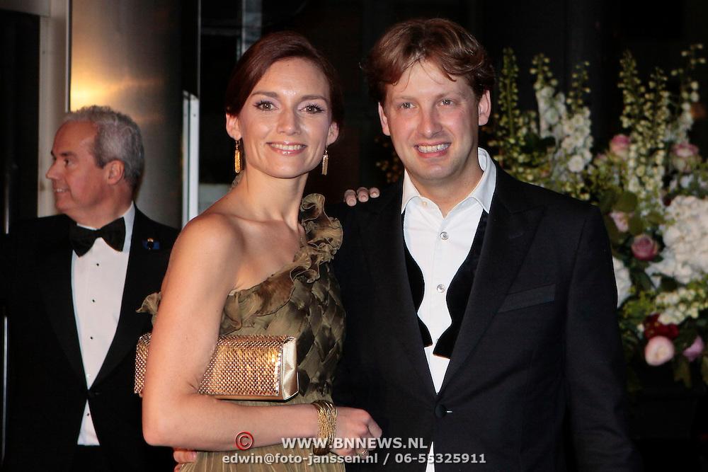NLD/Amsterdam/20110527 - 40ste verjaardag Prinses Maxima, Prinses Aimee en Prins Pieter- Christiaan van Vollenhoven
