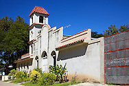 Church in Yara, Granma, Cuba.