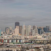 A view of the Skyline of San Francisco from Petrero Hill.  Mandatory Credit: Dinno Kovic / Dinno Kovic Photography
