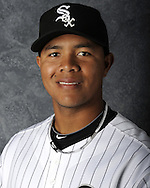 GLENDALE, AZ - MARCH 03:  Jose Quintana the Chicago White Sox poses for his official team headshot during photo day on March 3, 2012 at The Ballpark at Camelback Ranch in Glendale, Arizona. (Photo by Ron Vesely)   Subject:   Jose Quintana