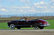 7/03/13 - ENNEZAT - PUY DE DOME - FRANCE - Essais BUICK EIGHT de 1949 - Photo Jerome CHABANNE