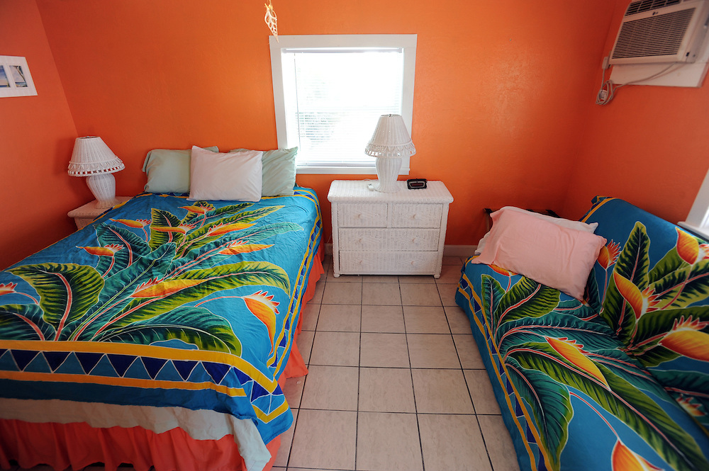 Zimmer im White Sands Inn auf Grassy Key..Florida 2009..Foto © Stefan Falke.