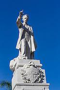 Monumento a Jose Marti, Parque Central, Havana Vieja, Cuba.
