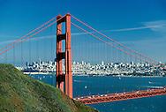 Golden Gate Bridge, San Francisco Bay, San Francisco, California