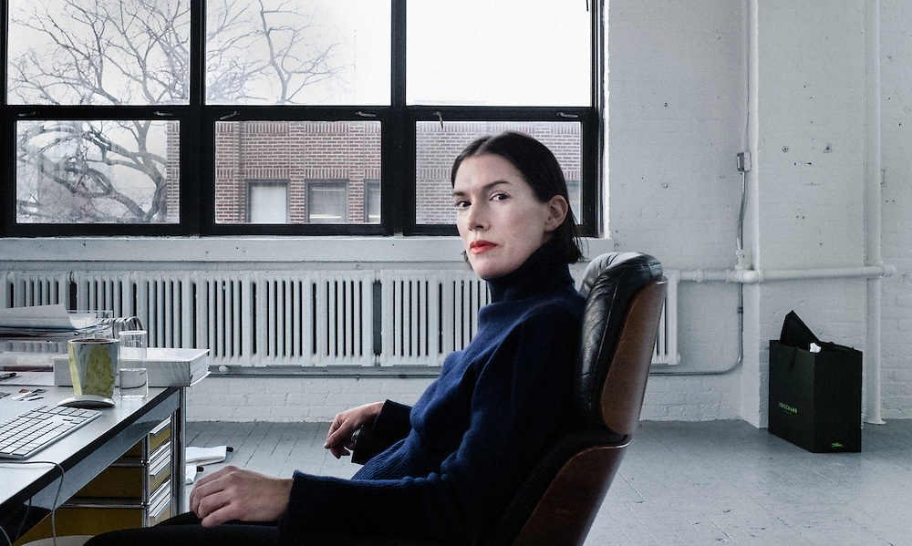 Sarah Morris, artiste plasticienne
