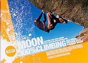 Print and Poster Advert, Moon Climbing