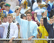 Oxford High students cheer vs. Lafayette High at Bobby Holcomb Field in Oxford, Miss. on Thursday, August 30, 2012. Oxford High won 19-0.