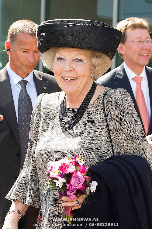 NLD/Putten/20140509 - Prinses Beatrix opent woonzorgcentrum De Schauw in Putten<br /> <br /> Princess Beatrix opens a new residential care centre for elderly people de Schauw in a town called Putten the Netherlands