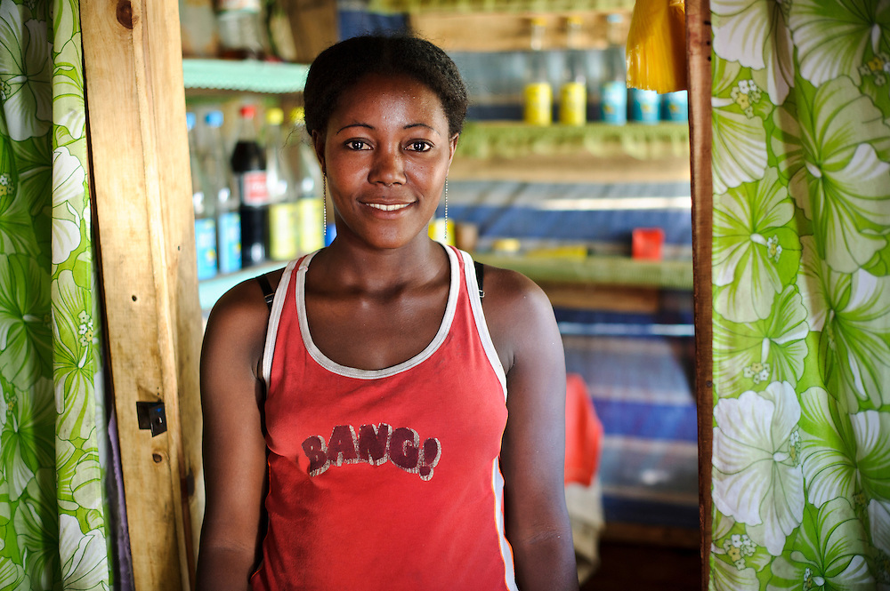 Young mother at a women's group meeting, Fort Dauphin, Madagascar. Azafady's mission is to alleviate extreme poverty and protect endangered, biologically rich forest environments in Madagascar by empowering some of the poorest people to establish sustainable livelihoods and improve their health and wellbeing. Their aims are to raise awareness about the plight of the Madagascan environment and the Malagasy people; to empower Malagasy people to improve their own lives; and provide support to communities and threatened environments. Azafady's approach is one of co-operation and participation with grassroots communities working to alleviate the effects of poverty and to support viable, environmentally sensitive development. Their holistic development and conservation projects support some of the world's most vulnerable people in threatened & irreplaceable environments. At the heart of the charity's work is an integrated approach to the needs of the Malagasy people and their unique environment, sensitively built around what local people have told the charity are their most critical needs and which maximises community participation. Azafady develop projects using the Sustainable Livelihoods model for poverty reduction, which aims to reduce vulnerability by strengthening communities' human, natural, financial, social and physical assets with a caveat that the charity's projects and activities do not compromise the environment. Projects incorporate communication, training and support at the level of the Fokontany (village) and the household, with a priority for the most isolated and marginalised communities. The charity has recently recruited a Research, Monitoring and Evaluation Manager, who will implement Azafady's new HIV/AIDS activities with pregnant and married women, with the aim of reducing rates of maternal transmission of HIV within the town.