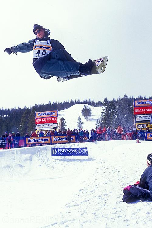 Noah Salasnek at the Breckenridge World Snowboard Championships in 1993