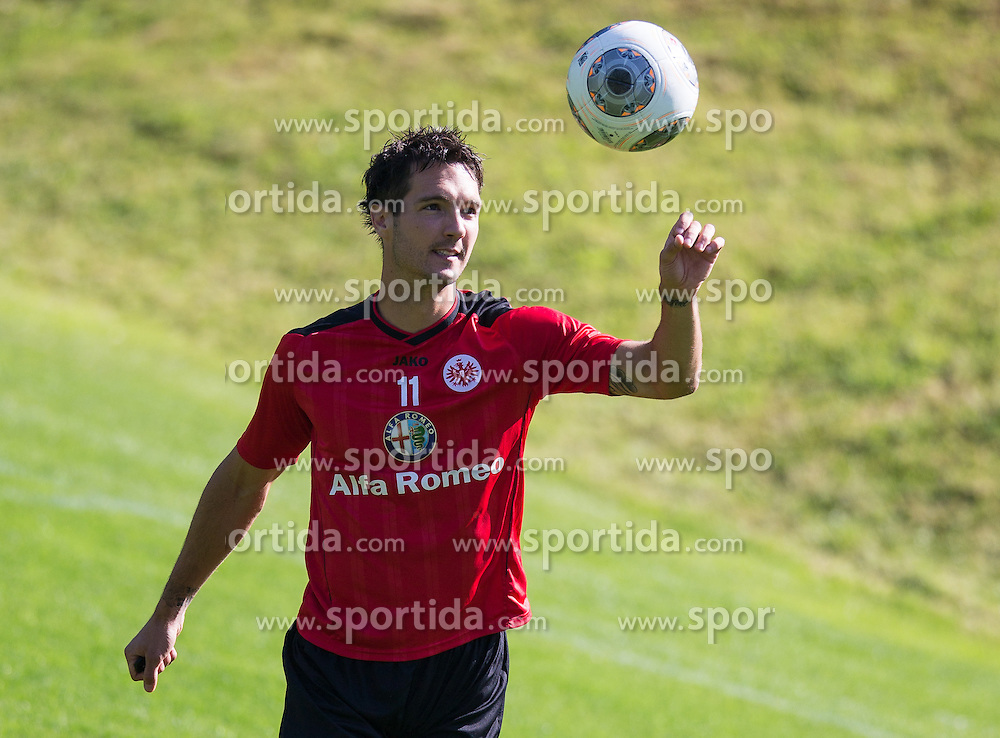 17.07.2013, Sportzentrum, Laengenfeld, AUT, Eintracht Frankfurt Trainingslager, im Bild Srdjan Lakic // during the Trainings Camp of German Bundesliga Club Eintracht Frankfurt at the Sportzentrum, Laengenfeld, Austria on 2013/07/17. EXPA Pictures © 2013, PhotoCredit: EXPA/ Johann Groder