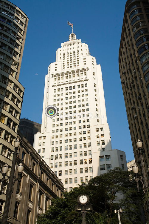 "O Edificio do Banespa (  Edificio Altino Arantes) marco arquitetonico da capital paulista, inaugurado em 1947, para ser a sede do Banco do Estado de Sao Paulo (Banespa)./ The Altino Arantes Building also known as the ""Banespa Building"", is an important skyscraper located in Sao Paulo, Brazil. It was constructed to be the headquarters of the Bank of the State of Sao Paulo (Banespa)"