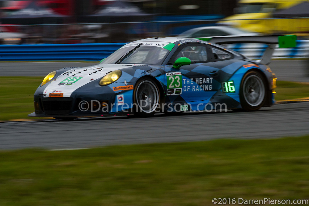 #23 Team Seattle/Alex Job Racing Porsche Porsche GT3 R: Ian James, Mario Farnbacher, Wolf Henzler, Alex Riberas