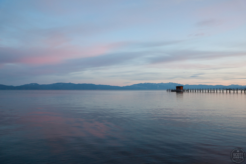 """Sunset at Lake Tahoe 14"" - This sunset was photographed from Commons Beach in Tahoe City, CA."
